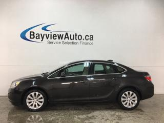 Used 2015 Buick Verano - ONSTAR! BLUETOOTH! DUAL A/C! ALLOYS! for sale in Belleville, ON