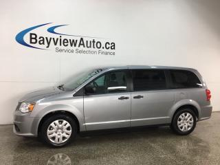Used 2018 Dodge Grand Caravan CVP/SXT - ONLY 7,000KMS! FLEX FUEL! A/C! CRUISE! ECO MODE! for sale in Belleville, ON