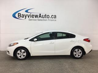 Used 2016 Kia Forte 1.8L LX - 6SPD! BUDGET BUDDY! BLUETOOTH! PWR GROUP! for sale in Belleville, ON