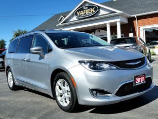 Used 2018 Chrysler Pacifica Touring-L Plus, DVD, Pano Roof, Pwr Doors, Leather Heated Seats/Wheel for sale in Paris, ON