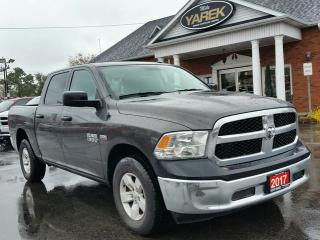 Used 2017 RAM 1500 SXT 4x4, Power Windows/Locks, Low Km's, Spray in Bedliner for sale in Paris, ON