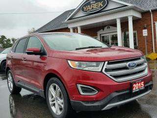 Used 2015 Ford Edge Titanium AWD, Pano Roof, Heated/Cooled Seats, NAV, Remote Start for sale in Paris, ON
