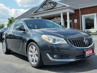 Used 2014 Buick Regal Turbo, Leather Heated Seats, Sunroof, Back Up Cam, Bluetooth, Sat. Radio for sale in Paris, ON