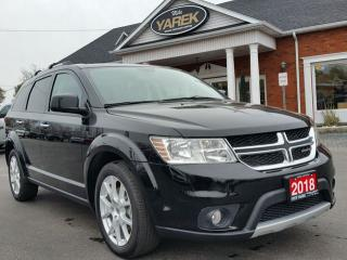 Used 2018 Dodge Journey GT AWD, DVD, NAV, 7 Pass., Heated Seats, Remote Start, Bluetooth for sale in Paris, ON