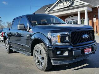 Used 2018 Ford F-150 XLT FX4 SPORT 4X4, Pano Roof, Remote Start, Heated Seats, NAV for sale in Paris, ON