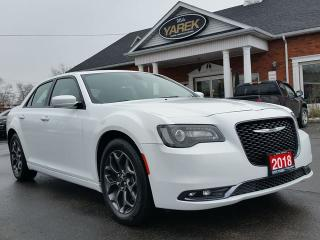Used 2018 Chrysler 300 S 300S AWD, Leather Heated Seats, NAV, Pano Roof, Remote Start, Back Up Cam for sale in Paris, ON