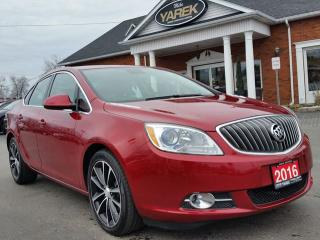 Used 2016 Buick Verano Sport Touring, Heated Seats, Back Up Cam, Sunroof, Bluetooth, Remote Start for sale in Paris, ON