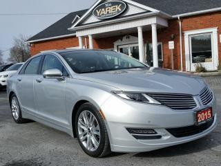 Used 2015 Lincoln MKZ AWD, Tech Pkg, Pano Roof, NAV, Heated/Cooled Leather Seats, BAck Up Cam, Remote Start for sale in Paris, ON