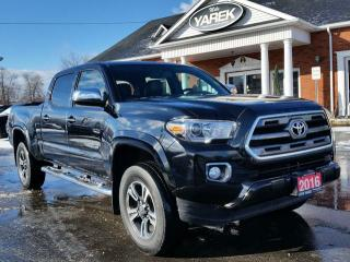 Used 2016 Toyota Tacoma Limited 4x4,Blind Spot, Leather Heated Seats, NAV, Sunroof, Back Up Cam, Bluetooth for sale in Paris, ON