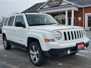 Used 2016 Jeep Patriot High Altitude 4x4, Leather Heated Seats, Sunroof, Remote Start, Bluetooth, Touchscreen for sale in Paris, ON