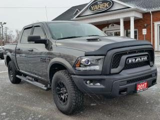 Used 2017 RAM 1500 Rebel 4x4, NAV, Heated Seats/Wheel, Remote Start, Air Suspension, Back Up Cam/Sensors for sale in Paris, ON