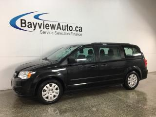 Used 2017 Dodge Grand Caravan CVP/SXT - FLEX FUEL! ECO MODE! A/C! CRUISE! for sale in Belleville, ON