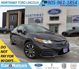 Used 2015 Honda Civic EX | BACKUP CAM | TOUCHSCREEN | PUSH TO START | for sale in Brantford, ON