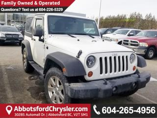 Used 2013 Jeep Wrangler Sport *LOCALLY DRIVEN* for sale in Abbotsford, BC