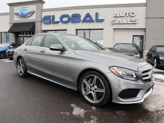 Used 2015 Mercedes-Benz C 300 4MATIC Sedan AMG Styling Pkg. NAVIGATION , MORE .... for sale in Ottawa, ON