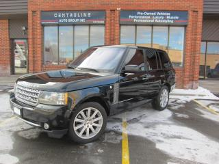 Used 2010 Land Rover Range Rover SUPERCHARGED/ $17,495+HST+LIC FEES /CERTIFIED SC for sale in North York, ON