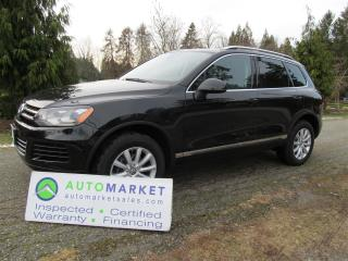 Used 2014 Volkswagen Touareg HIGHLINE V6 INSP BCAA MBSHP WARR for sale in Surrey, BC