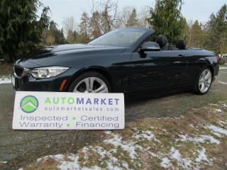Used 2014 BMW 428i SPORT, NAVI, LOAD, INSP, FREE WARR, FREE BCAA MBSHP, FINANCE for sale in Surrey, BC