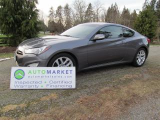 Used 2014 Hyundai Genesis 2.0t, 6sp, NAVI, INSP, WARR, FREE BCAA MBSHP, FINANCE for sale in Surrey, BC
