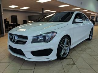 Used 2015 Mercedes-Benz CLA-Class 4matic AMG GPS Cuir Toit Pano for sale in Pointe-Aux-Trembles, QC