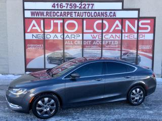 Used 2015 Chrysler 200 200-ALL CREDIT ACCEPTED for sale in Scarborough, ON
