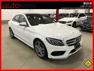 Used 2016 Mercedes-Benz C-Class C300 4MATIC PREMIUM PLUS SPORT ACTIVE LED for sale in Vaughan, ON