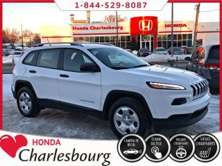 Used 2016 Jeep Cherokee SPORT V6 AWD **34 233 KM** for sale in Charlesbourg, QC