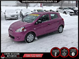 Used 2015 Mitsubishi Mirage ES + A/C MANUELLE 5 PORTE for sale in St-Jérôme, QC