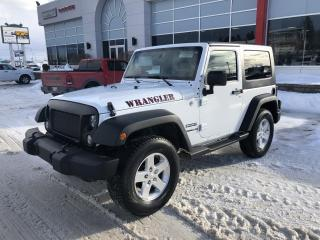 Used 2014 Jeep Wrangler 4x4 2 portes Sport DEM A DISTANCE for sale in Jonquière, QC