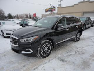 Used 2019 Infiniti QX60 AWD-Cuir-ToitOuv-7Pass-360Cam a vendre for sale in Laval, QC