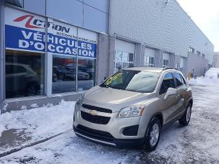Used 2015 Chevrolet Trax Lt,mags,bluetooth,cl for sale in St-Hubert, QC