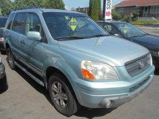 Used 2003 Honda Pilot 4 portes 4 RM EX boîte automatique avec for sale in Sorel-Tracy, QC