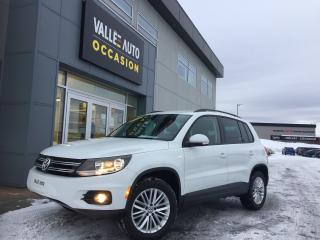 Used 2015 Volkswagen Tiguan ÉDITION SP for sale in St-Georges, QC