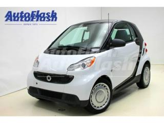 Used 2013 Smart fortwo Pure for sale in St-Hubert, QC