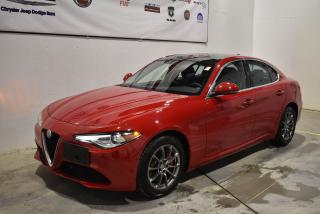 Used 2018 Alfa Romeo Giulia Awd+navigation+cuir for sale in Sherbrooke, QC