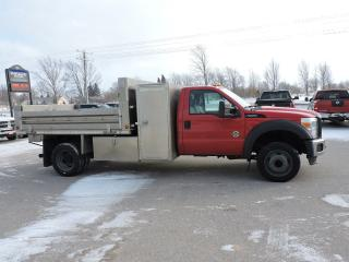 Used 2012 Ford F-550 XL.10 ft Aluminum dump bed for sale in Gorrie, ON
