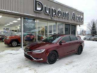 Used 2016 Chrysler 200 Chrysler 200 limited 2.4L for sale in Alma, QC
