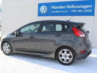 Used 2016 Ford Fiesta ST HATCHBACK - LEATHER / HEATED SEATS / NAVI for sale in Edmonton, AB