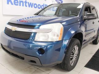 Used 2007 Chevrolet Equinox LS AWD, pretty blue just for you for sale in Edmonton, AB