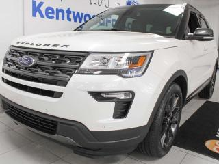 Used 2018 Ford Explorer XLT 4WD, NAV, sunroof, heated leather seats, LOW KM's, power liftgate for sale in Edmonton, AB