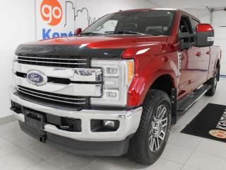 Used 2018 Ford F-350 Super Duty SRW LARIAT FX4 off road, power heated/cooling seats, sun roof, push start/stop, NAV, back up cam, and keyless entry for sale in Edmonton, AB