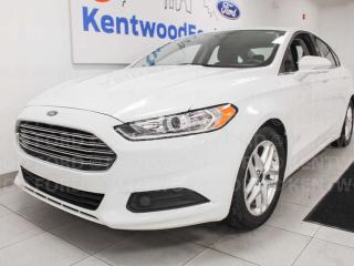 Used 2016 Ford Fusion SE FWD, NAV, power seats, back up cam, keyless entry for sale in Edmonton, AB