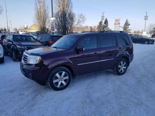 Used 2014 Honda Pilot TOURING; AWD, 8 PASS, NAV, BLUETOOTH, HEATED SEATS AND MORE for sale in Edmonton, AB