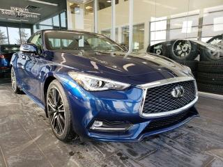 New 2019 Infiniti Q60 LUXE W/ PROACTIVE PACKAGE for sale in Edmonton, AB