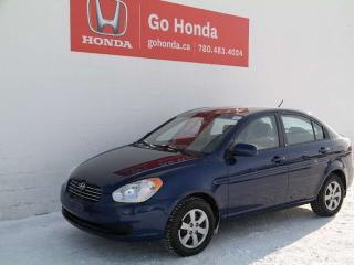 Used 2010 Hyundai Accent SEDAN for sale in Edmonton, AB