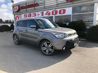 Used 2016 Kia Soul SX Luxury Moonroof/NAV/Heated Seats for sale in Port Dover, ON