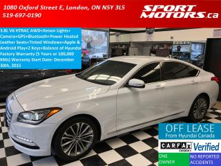 Used 2015 Hyundai Genesis Premium AWD+Xenons+GPS+Camera+Apple Play+XM Radio for sale in London, ON