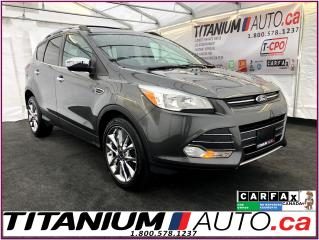 Used 2015 Ford Escape SE-4WD-2.0L-Camera-GPS-Pano-Leather Heated Seats- for sale in London, ON