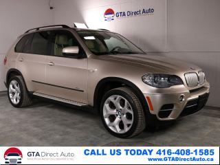Used 2012 BMW X5 35d xDrive AWD Sport Diesel NAV PANO CAM Certified for sale in Toronto, ON