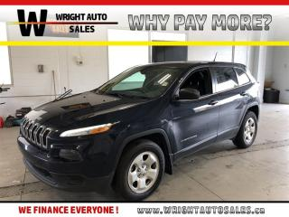Used 2016 Jeep Cherokee Sport|4X4|BLUETOOTH|KEYLESS ENTRY|119,145 KMS for sale in Cambridge, ON